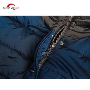 Image 5 - מודרני חדש סאגת 2020 סתיו נשים מעיל ברדס כותנה מרופדת מעיל חורף ארוך מעיל גבירותיי Parka בתוספת גודל חורף מעיל נשים