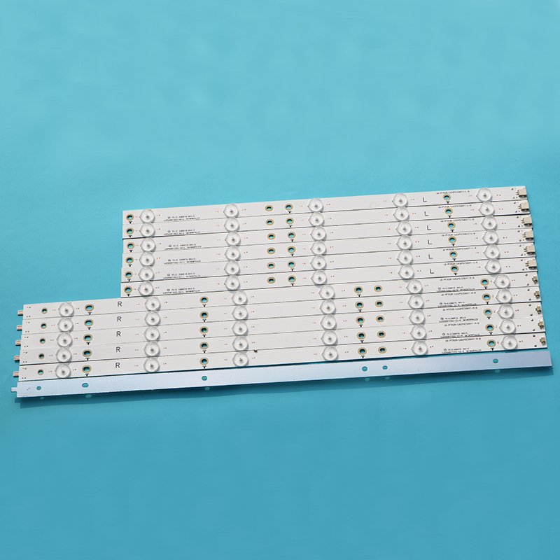 100% New 1set (12pcs) LED Strip For 50