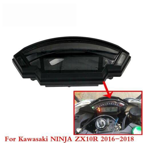 Indicateur de vitesse tachymètre Tacho Instrument jauge boîtier horloge étui protecteur pour Kawasaki ZX10R NINJA ZX 10R 2016 2017 2018