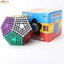 Shengshou Wumofang 7x7x7 Magic Cube Teraminx 7x7 Professional Dodecahedron Cube Twist Puzzle Educational Toys
