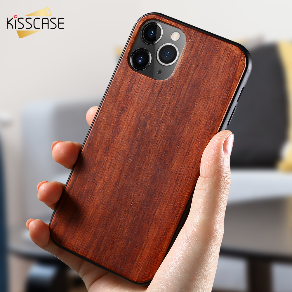 KISSCASE Wood Soft TPU <font><b>Case</b></font> For <font><b>iPhone</b></font> 7 Cover For <font><b>iPhone</b></font> XSMAX <font><b>Cases</b></font> 11PRO MAX XS XR 6S 11 X 7Plus 11PRO <font><b>Original</b></font> <font><b>Silicon</b></font> Coque image