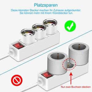 Image 4 - Wifi inteligentne gniazdo zasilania ue elektryczne gniazdka ścienne 10A czas głos bezprzewodowy pilot przez Tuya Smartlife Alexa Google Home
