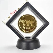 Ripple dogecoin zcash monero dash bitcoin coin xrp coleção de arte presente colecionável físico sliver réplica comemorativa moedas