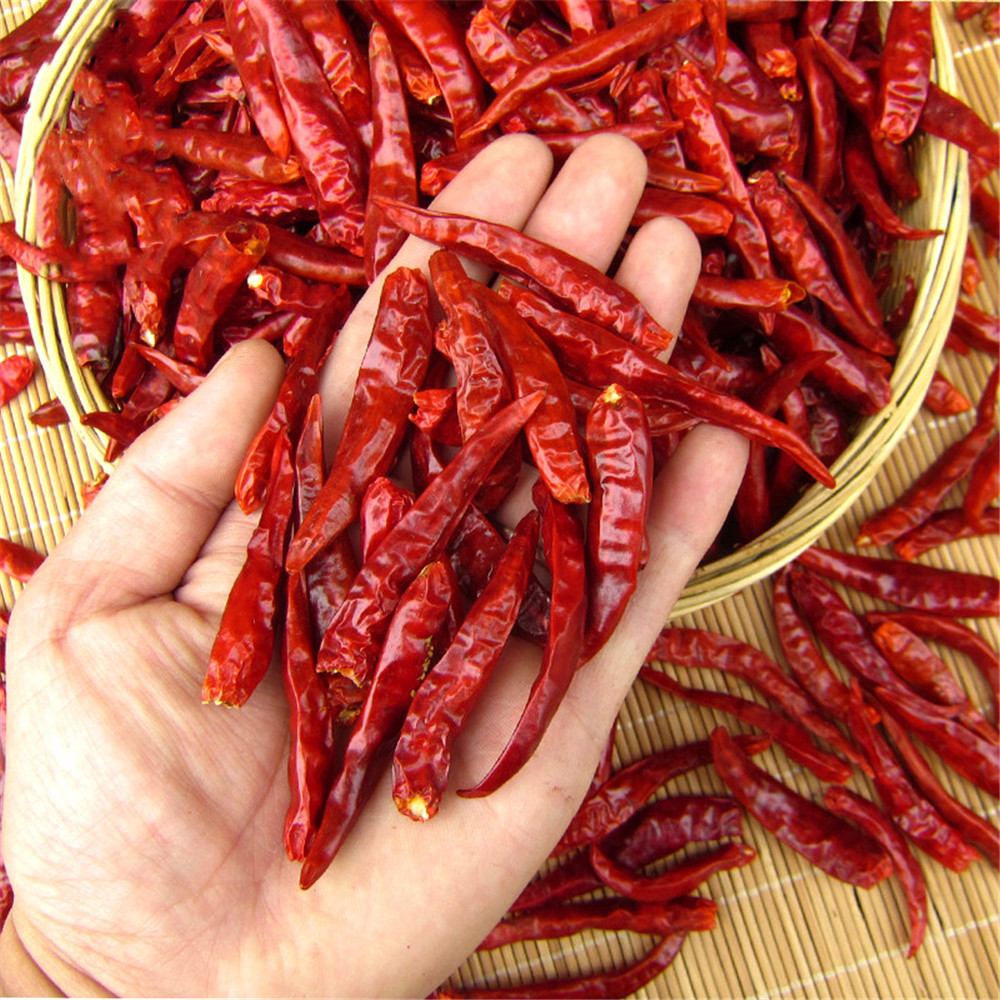 Image 2 - 200g dried chilli pure natural bonsai sichun chilli pepper Free shippoingArtificial & Dried Flowers   -