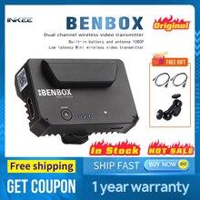 INKEE BENBOX podwójny kanał bezprzewodowy nadajnik wideo 5G 1080P Mini HDMI