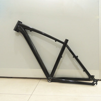 26er 디스크 브레이크 광택 테이퍼 합금 알루미늄 MTB 자전거 프레임 17.5in DIY 자전거 프레임 자전거 액세서리|자전거 프레임|   -