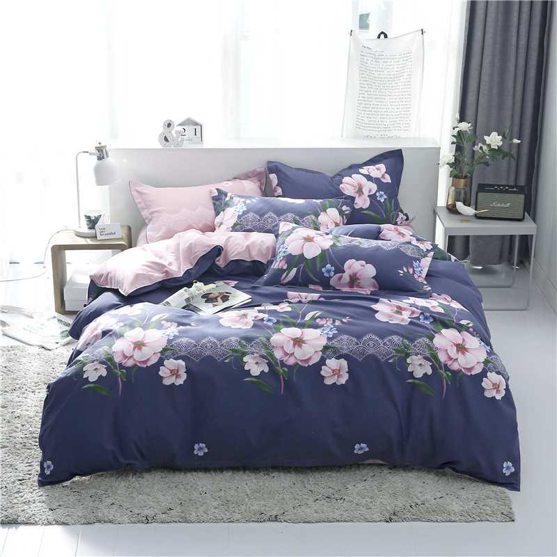 CHINESE STYLE Duvet Cover Set Bed Linens Pillowcase 3pcs Bedding Set,Comforter/Quilt/Blanket Case Twin Queen King Double Single