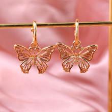 Женские серьги подвески flatfoosie золотые серебристые металлические