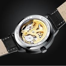 Guanqin GJ16148 2020 New Watch Men'S Skeleton Automatic Mechanical Gold Skeleton Retro Top Brand Luxury