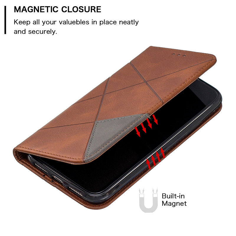 Luxury Flip Leather Wallet Case for iPhone 11/11 Pro/11 Pro Max 3
