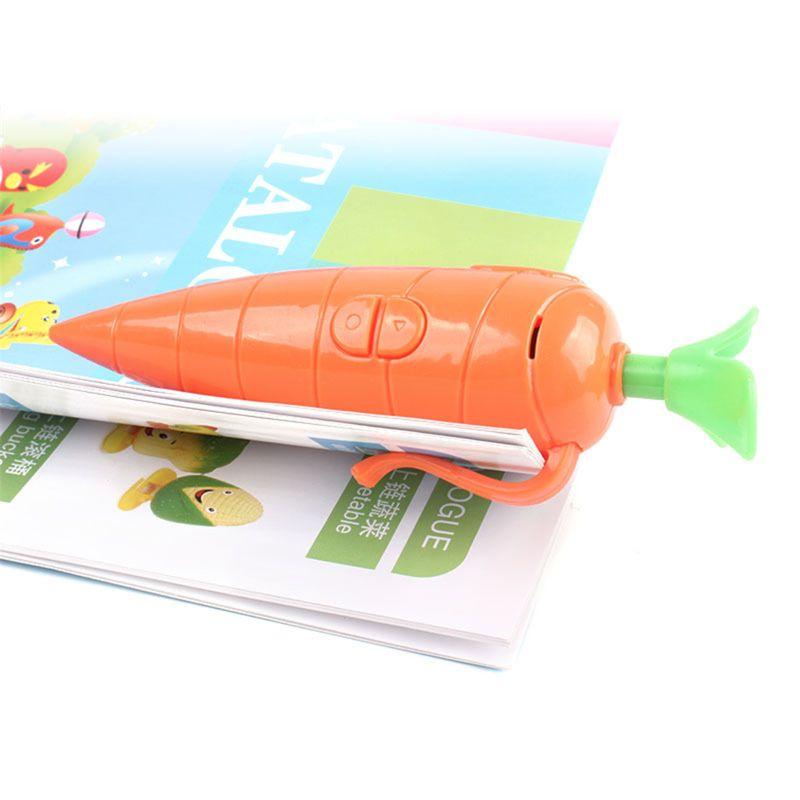 Kids Carrot Recorder Pen Toy,Also As Cute Ballpoint Pen For Boys Girls
