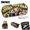 New Fortnite Pencil Case Children Creative Waterproof Large Capacity Student Learning Stationery Kid Birthday Toy Gift20*9*6.6cm