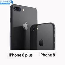 Oryginalny Apple iPhone 8 8 plus 2GB 64GB Unlocked LTE telefon komórkowy 4 7 #8222 12MP Hexa Core 2GB RAM iOS telefon komórkowy celular tanie tanio IPhone 8 Plus 3 GB 64 GB Niewymienna CN (pochodzenie) Używane Dla systemu iOS Rozpoznawania linii papilarnych 1821mAh Adaptacyjne szybkie ładowanie