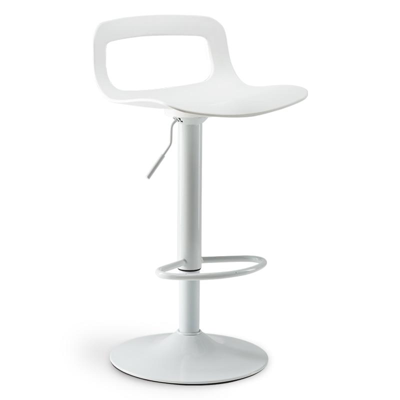 Bar Stool Simple High Stool Bar Chair Backrest Bar Stool Swivel Lift High Stool Home Bar Chair