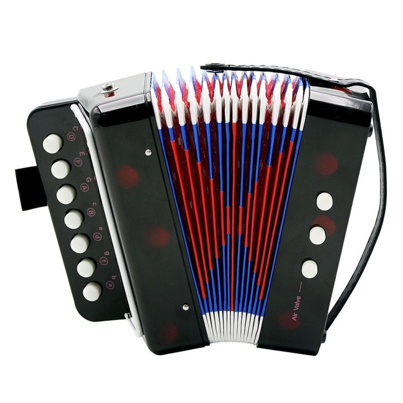 1Pc Creative Children Musical Instrument Accordion Toy