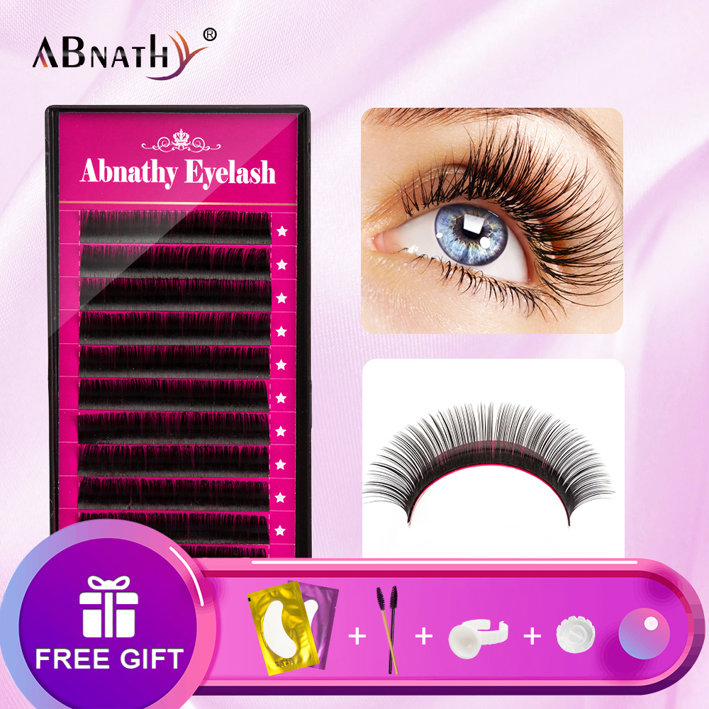 1 Case 0.05-0.25mm All Size JBCD Eyelash Extensions Mink Eyelash Extension Mink Black Fake False Eyelashes Curl