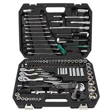 121 pcs Tool Set Hand Tools for Car Repair Ratchet Spanner Wrench Socket Set Professional Car Repair Tool Kits