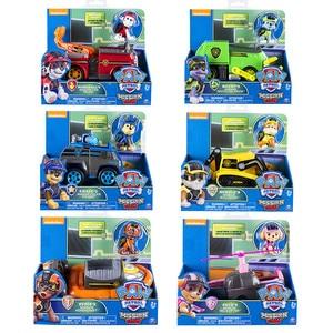 Image 5 - 원래 발 순찰 특별 임무 시리즈 강아지 순찰 자동차 액션 피규어 장난감 개 lookout 타워 구조 버스 차량 장난감 아이 선물