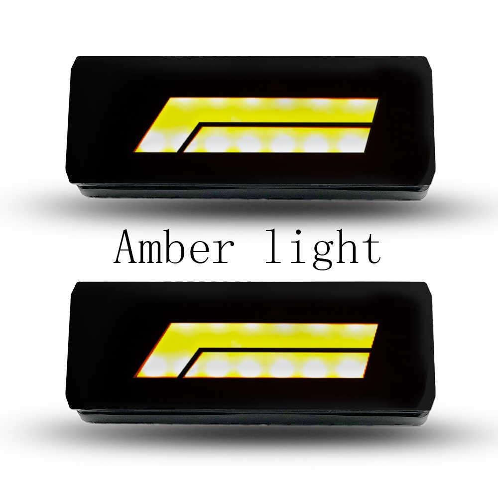 1 زوج LED الجبهة مؤشر موقف ضوء الحديقة مصباح تعليم جانبي العنبر مقاوم للماء ل لادا نيفا 4x4 لادا 4x4 الحضرية سيارة الجبهة