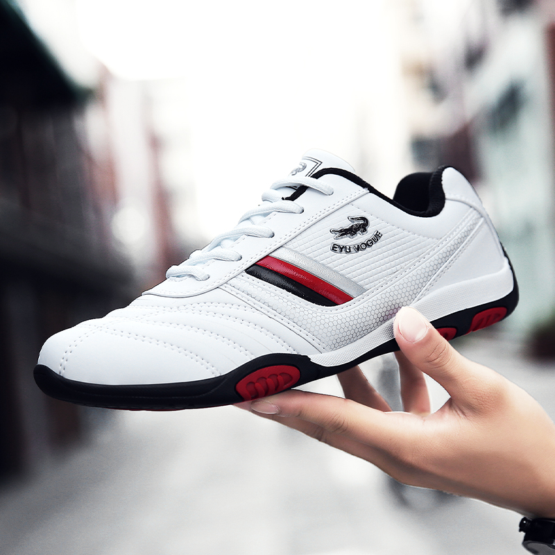 2019 New Luxury Male Running <font><b>Shoes</b></font> Comfortable Sports <font><b>Shoes</b></font> For Men Designer Man Jogging Sneakers Pu Leather Mens Brand <font><b>Shoes</b></font> image