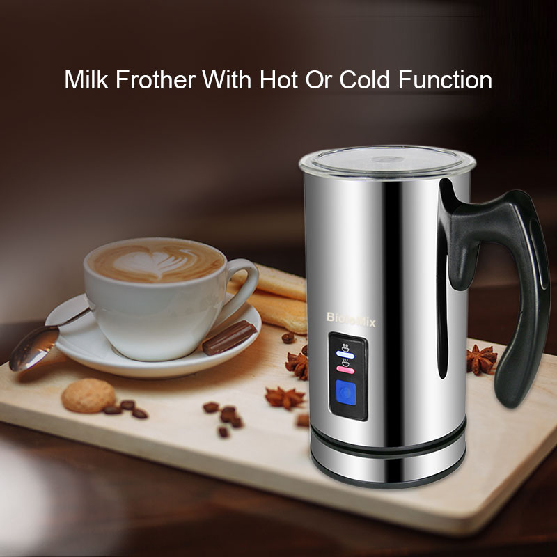 Image 5 - 3 Function Electric Milk Frother Milk Steamer Creamer Milk Heater with New Foam Density for Latte Cappuccino Hot ChocolateMilk Frothers   - AliExpress