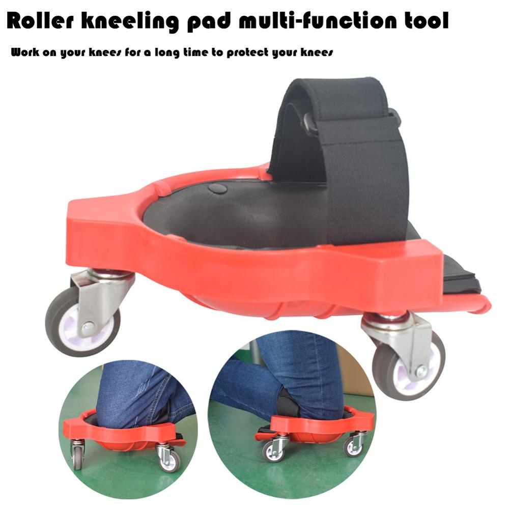 Built In Foam With Wheels, Roller, Knee Pads, Paving Platforms, Universal Roller Kneeling Pads
