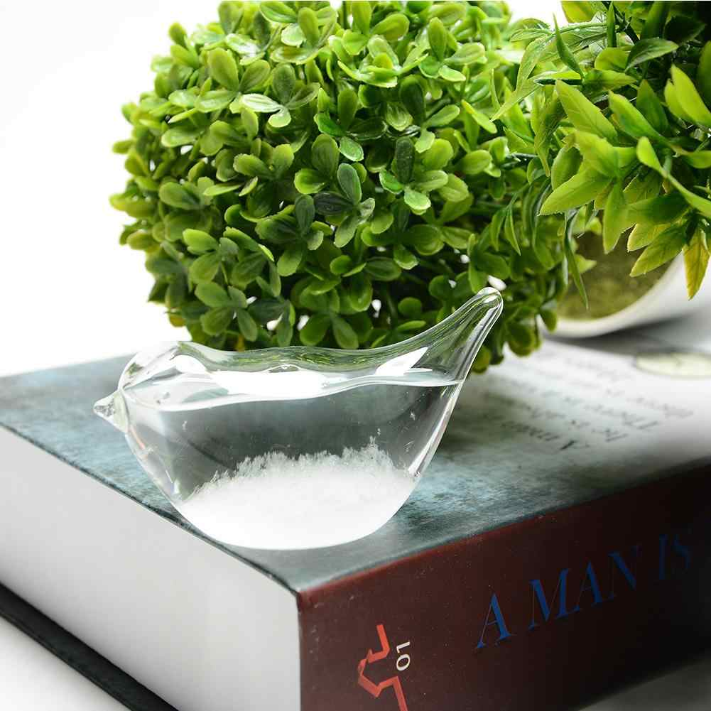 Kristal Kecil Prakiraan Cuaca Botol Kaca Badai Botol Rumah Kantor Dekorasi Hadiah