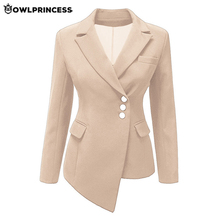 Daily suit OWLPRINCESS Plus Size Business Blazer Black