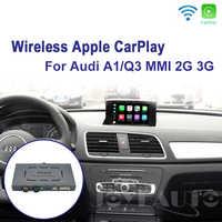 Joyeauto Aftermarket A1 Q3 MMI RMC OEM Wifi Drahtlose Apple CarPlay Interface Retrofit für Audi mit Touchscreen Reverse Kamera