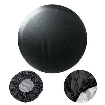 """Funda para neumático de coche, funda protectora para válvula de rueda de repuesto de PVC de 14 """", 15"""", 16 """"y 17"""", funda protectora para ruedas de coche"""