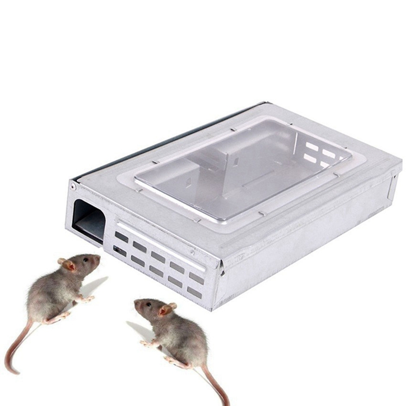Household Large Mouse Trap Automatic Continuous Mousetrap Reusable Catch High Effect Rat Traps Catcher Killer Mice Rodent Cage