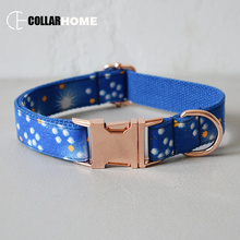 cool dog collar leash set for medium big dogs pet necklace with bow tie bowknot straps rope adjustable