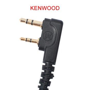 Nouveau Casque Tactique Airsoft U94 PTT équipement Pour KENWOOD/Midland Talkie-walkie BaoFeng UV-82 Casque Radio Softair WZ113