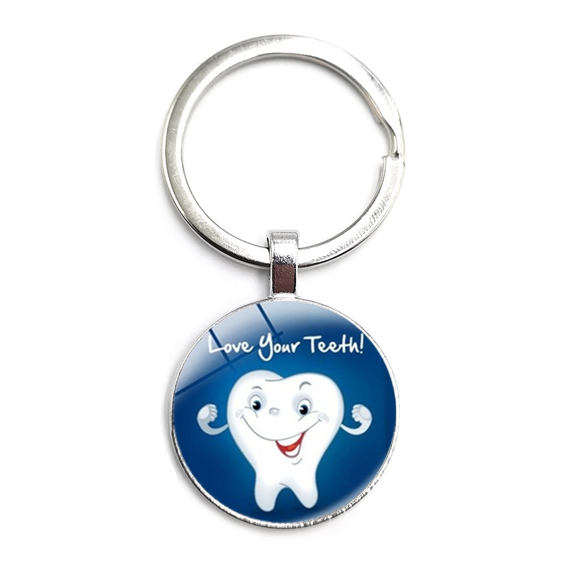 Купить брелок с надписью «love your подвеска» зуб 2020 год