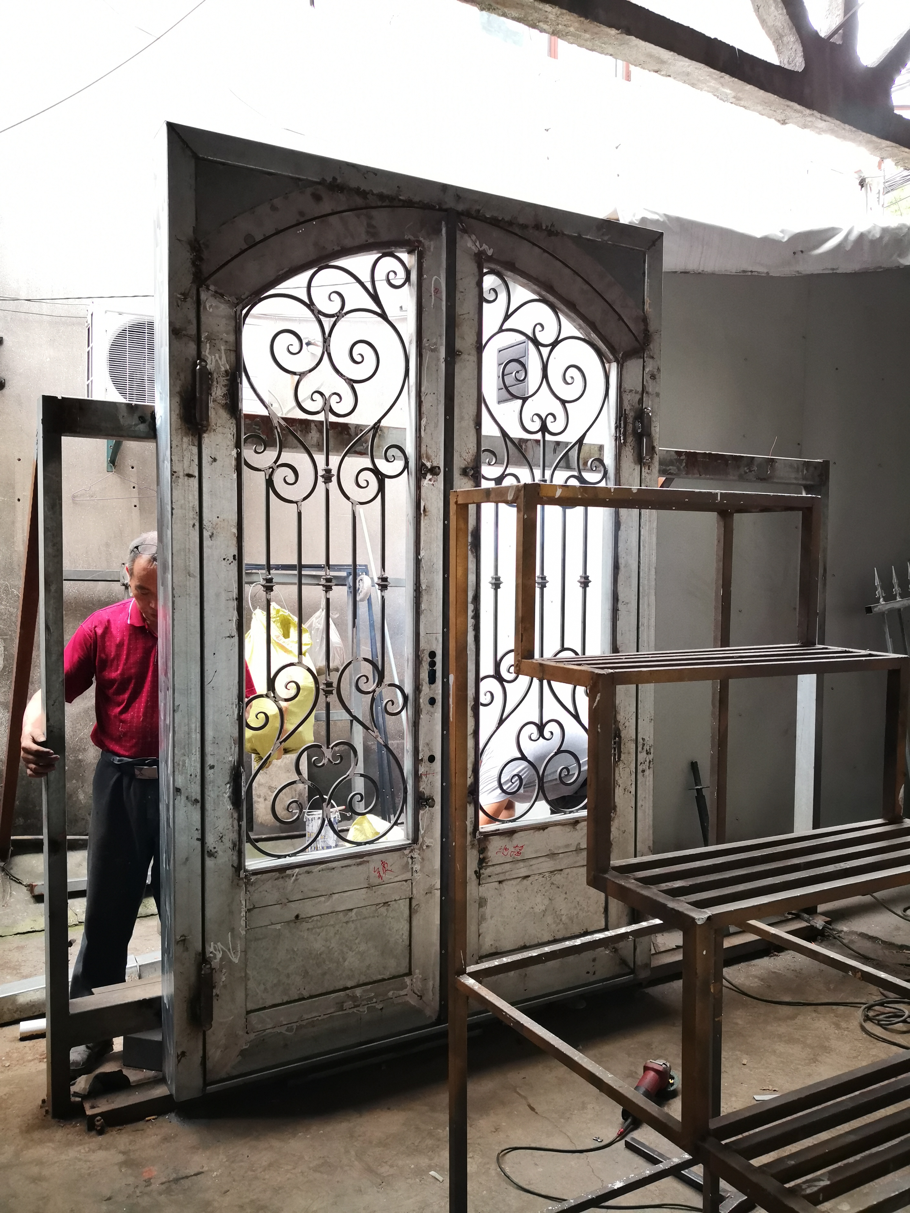 Hench 100% Steel Iron Doors  Model Hc-id120