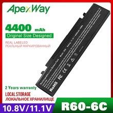 6 cellules batterie dordinateur portable Pour Samsung AA PB4NC6B R60 P560 Q210 AA PB2NC6B AA PB2NC6B/E R458 R460 R509 R510 R560 P50 P60 P210 P460