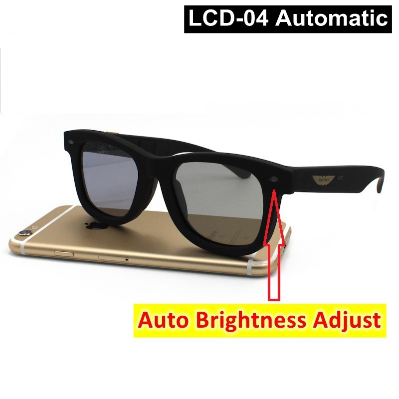 2020 Electronic Diming Sunglasses LCD Original Design Liquid Crystal Polarized Lenses Factory Direct Supply Patent Technology 3