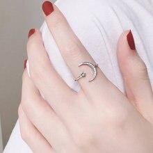 Регулируемое кольцо ручной работы серебряного цвета оригинальное