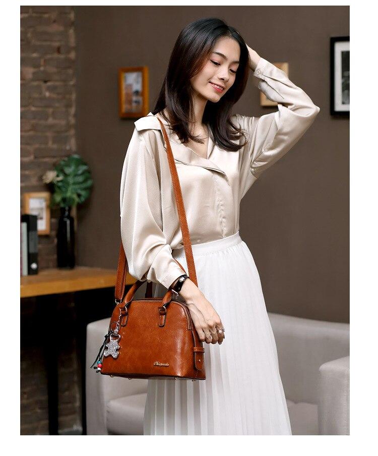 Alta qualidade bolsa de ombro feminina bolsa