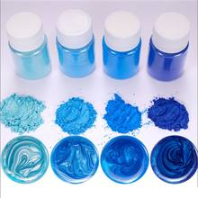 21 Kleuren Aurora Resin Mica Parelmoer Pigmenten Kleurstoffen Hars Sieraden Maken