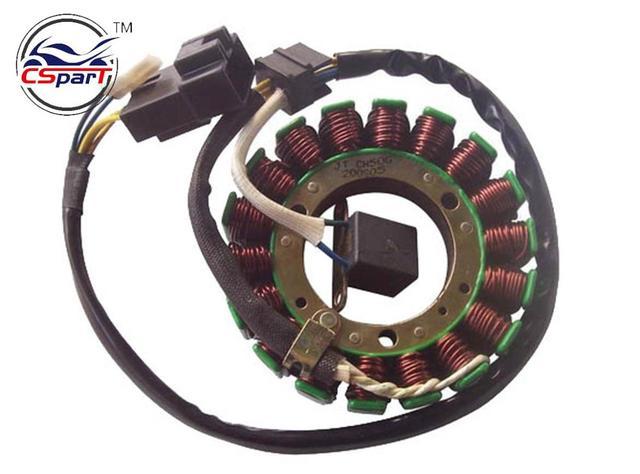 Stator For CFmoto CF moto 500 600 600CC 500CC CF500 CF188 CF600 CF196 UTV  ATV SSV  Magneto coil 12V 18 coils 0180 032000