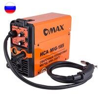 Inversor de soldadura semiautomática MIG-185 MMA/MIG/MAG IGBT G0015