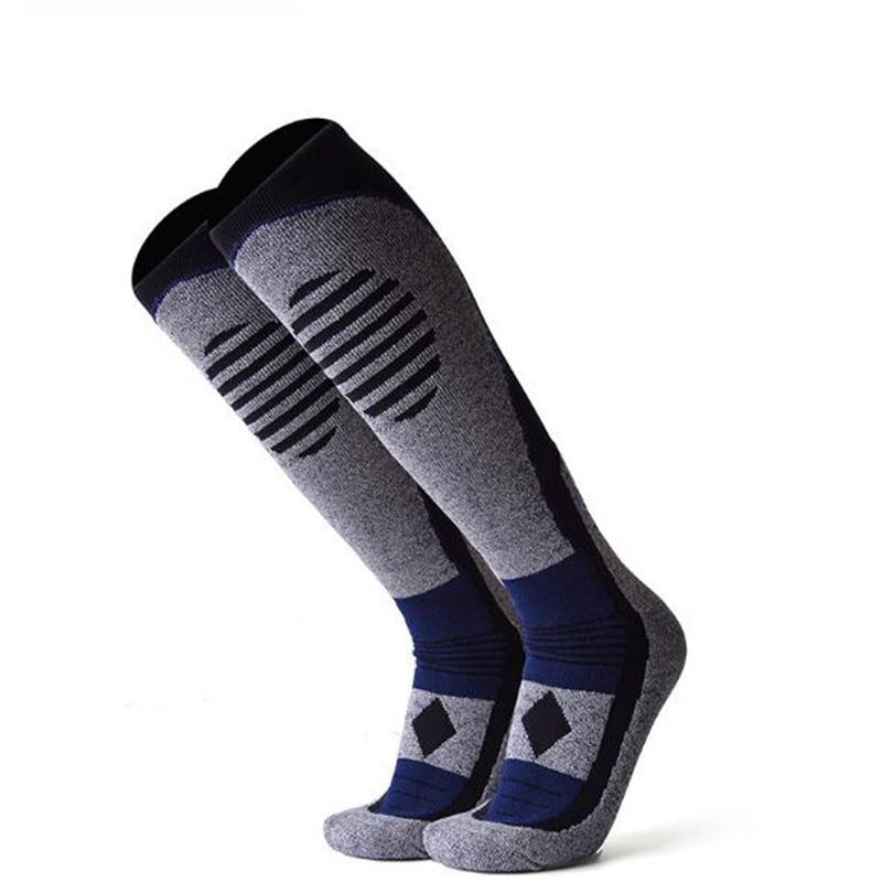 YUEDGE Breathable Thick Cushion Knee High Winter Sports Snowboarding Skiing Socks Winter Warm Thermal Socks|Skiing Socks| - AliExpress