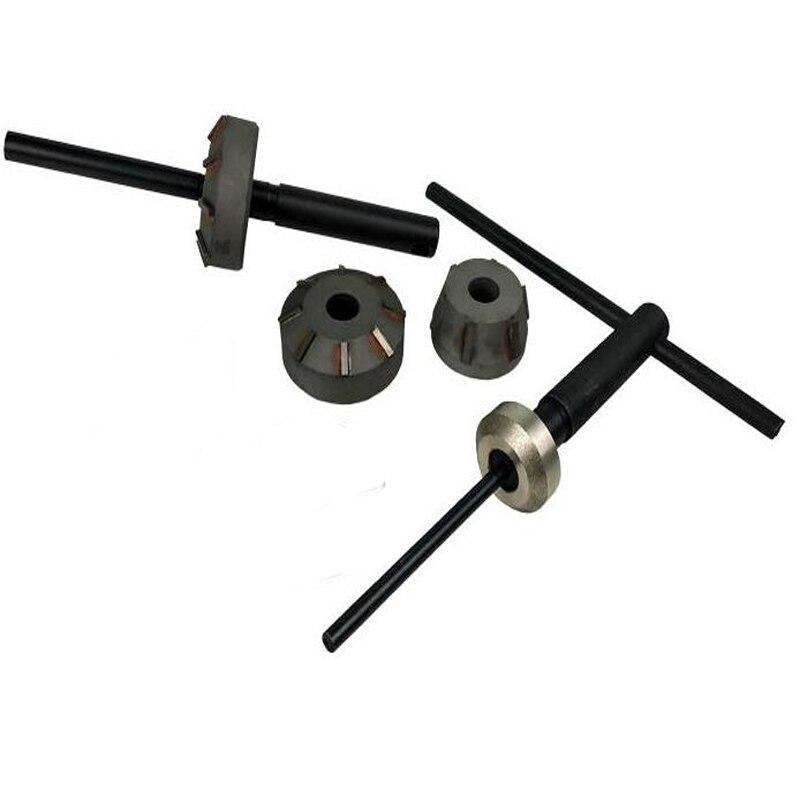 Automobile Valve Seat Reamer Diamond Head Wheel Reamer Seat, Head Reamer Tool Handle