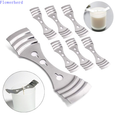 2pcs Candle Wick Holder Scented Candle DIY Tool Single Hole and Three Hole Candle Holder Candle Making Supplies Candle Kit
