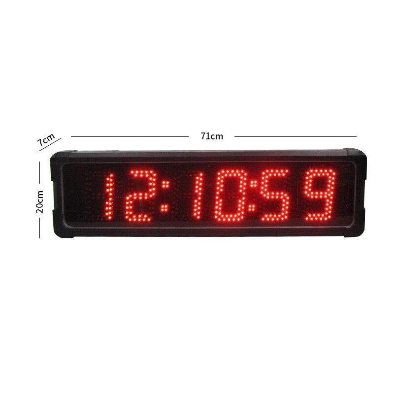 10 дюймов WiFi цифровая фоторамка сенсорный экран Отображение времени дисплей с будильником для пожилых спортивных камер аксессуар фото - 3
