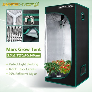 Marshydro 70x70x160cm grow tent 1680D indoor  1