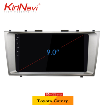 "KiriNavi 2 din 9"" Touch Screen Android Car Radio For Toyota Camry 2006-2011 Multimedia GPS Navigation Player audio"