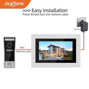 Image 4 - 7 นิ้ว WIFI IP Video ประตูโทรศัพท์ Intercom Wireless Door Bell ประตูลำโพงระบบควบคุมหน้าจอสัมผัส Motion Detection