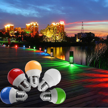 5Colors Led Bulb 3W Bulb Wall Lamp Chandelier Light Source Christmas Tree Decoration Lights Lighting Fluorescent Lamp Bulbs image